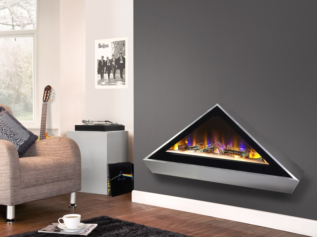 Electriflame VR Louvre - Wall Mounted Electric Fire