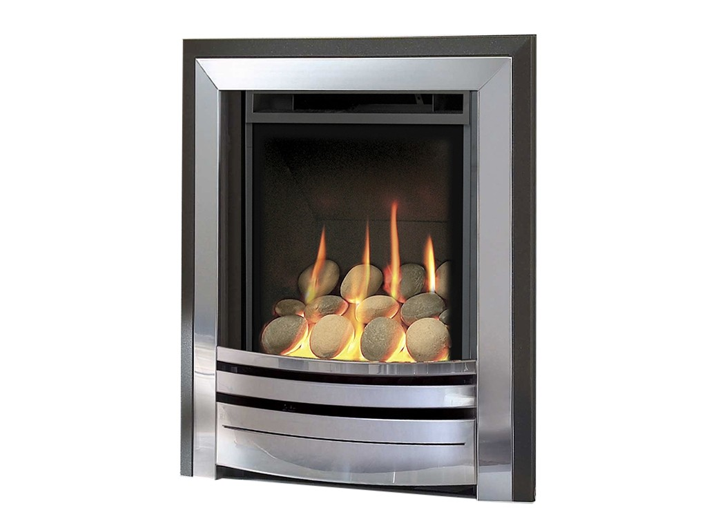Verine Frontier HE Hearth & Wall Inset Gas Fire