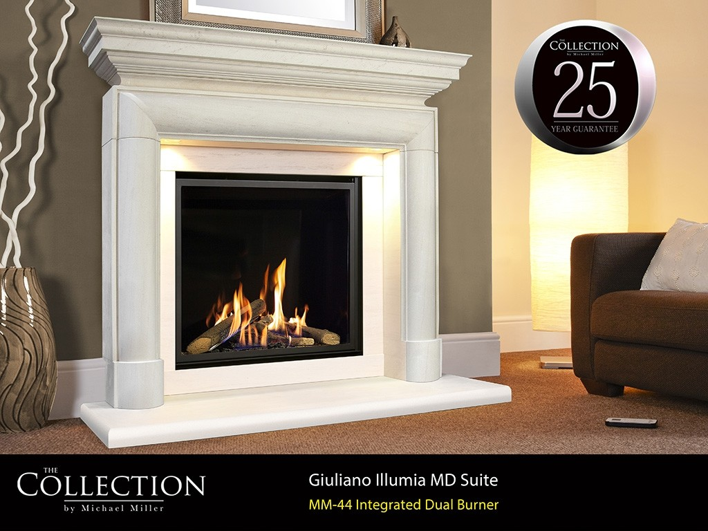 Da Vinci MD Illumia Gas Fire Suites