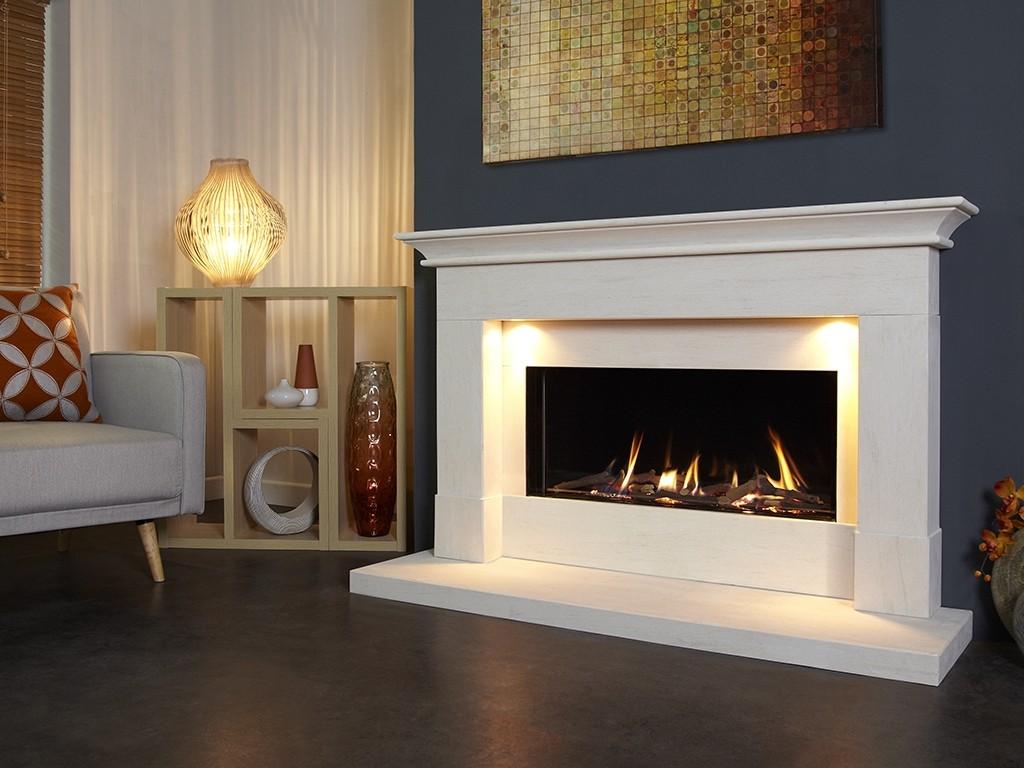 Parada Elite Illumia 58L Gas Fire Suite