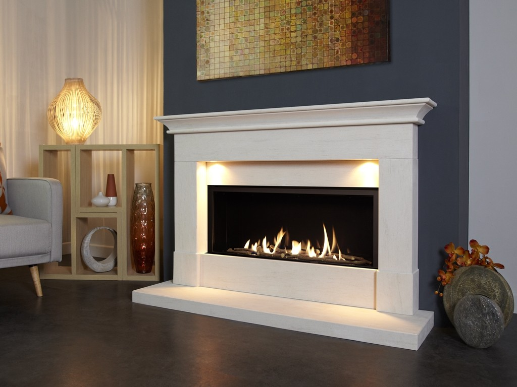 Parada Elite Illumia Slimline BF Gas Fire Suite