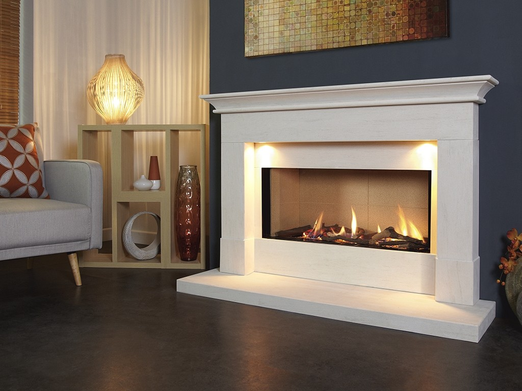 Parada Elite Illumia 54L Gas Fire Suite
