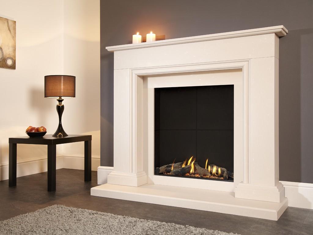 Flavel - Sophia Slimline Balanced Flue Gas Fire Suite