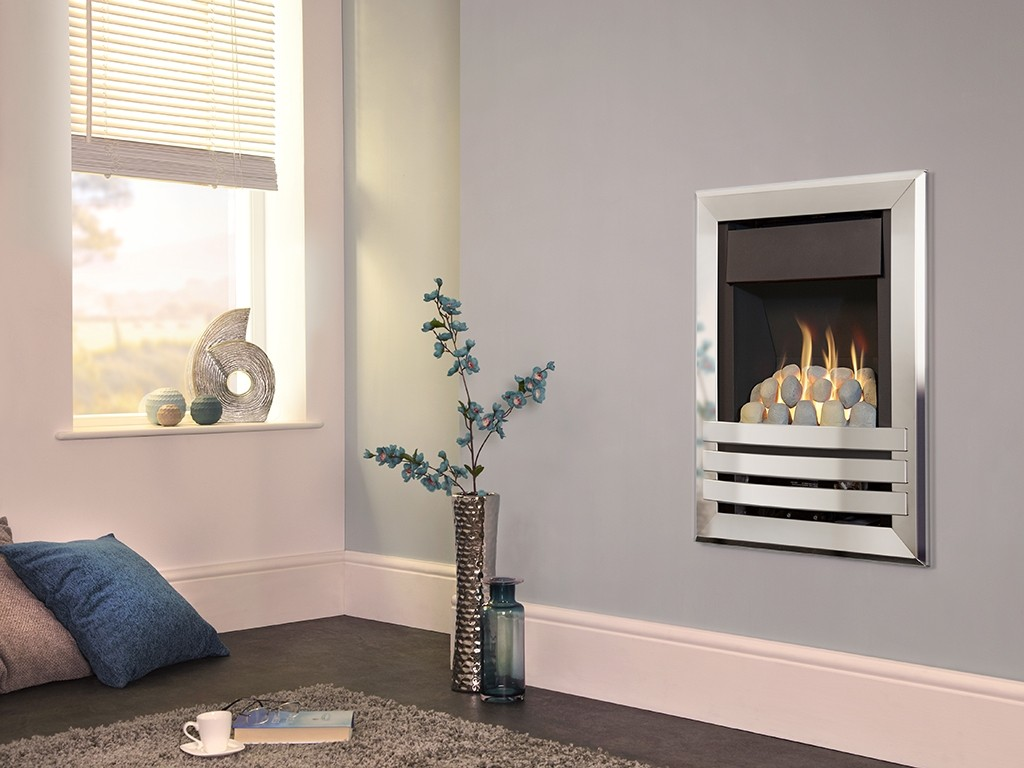 Flavel - Windsor Contemporary Plus Wall Inset Gas Fire
